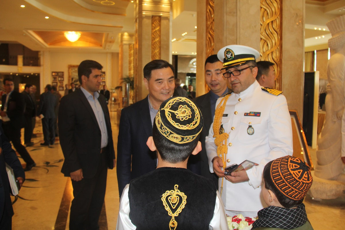 Rear Admiral Zhang Wendan, Head of China Delegation