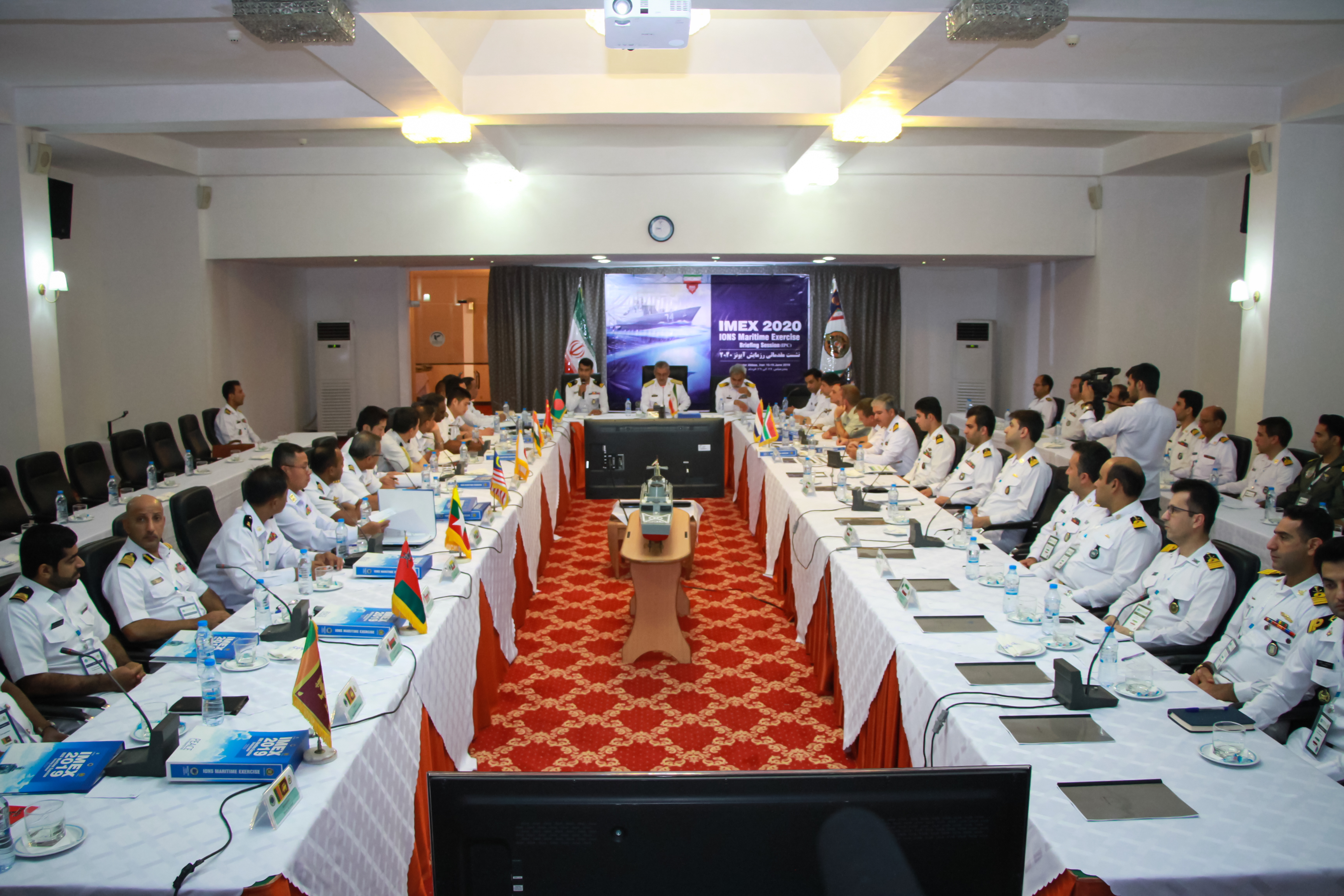 Initial Planning Conference (IPC) of IONS Maritime Exercise (IMEX 2020) was held in Bandar Abbas, Iran.