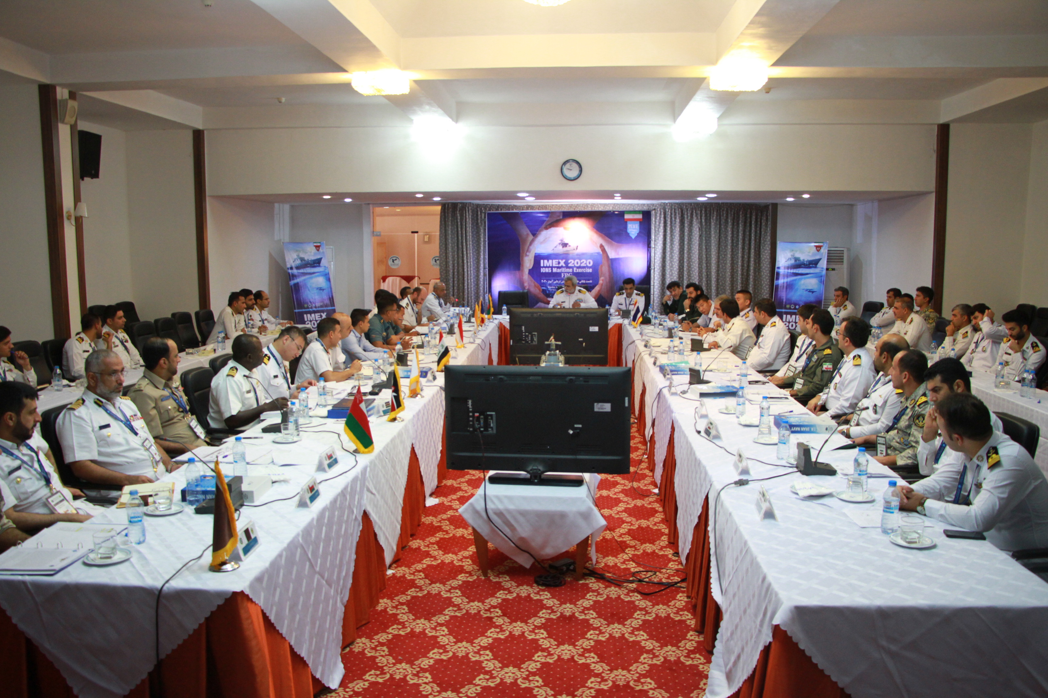 I.R. Iran Navy holds IMEX 2020 Final Planning Conference in Bandar Abbas
